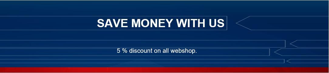 5% Webshop Rabatt